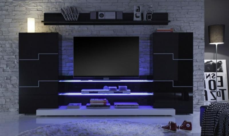 Wohnwand modern coole Designs