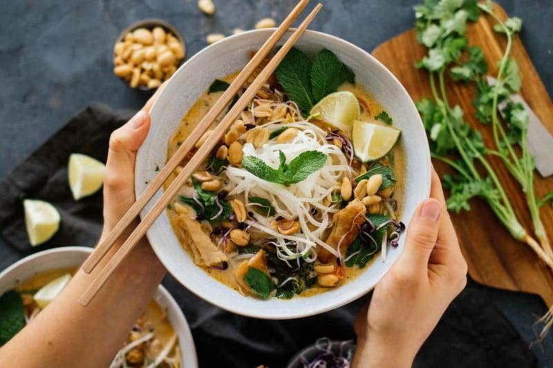 Thai Kokos Suppe Originalrezept