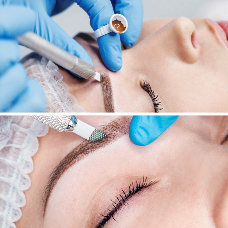 Microblading Behandlung