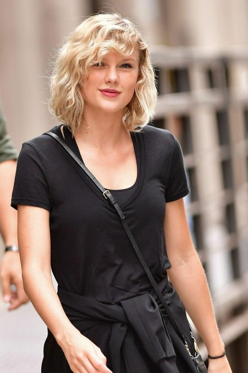 schräger Pony Taylor Swift