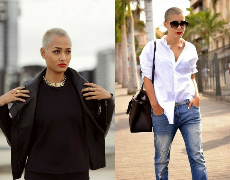 Buzz Cut prominente Damen