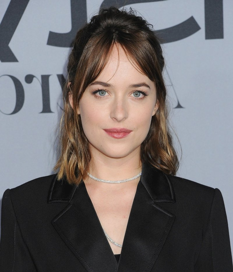 Dakota johnson Curtain Bangs
