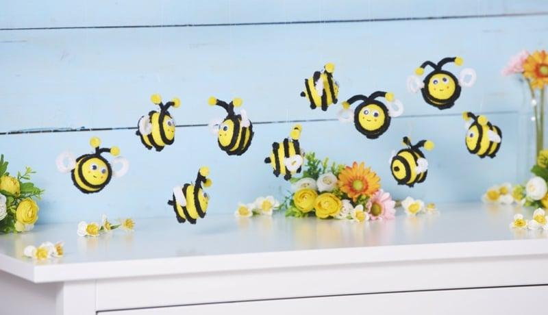 Bienen basteln wie geht es