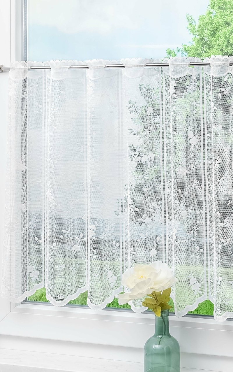 lange Gardine lange transparent