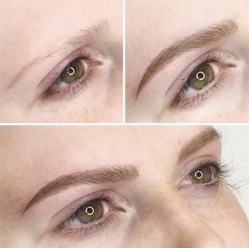 Make-up für Augenbrauen