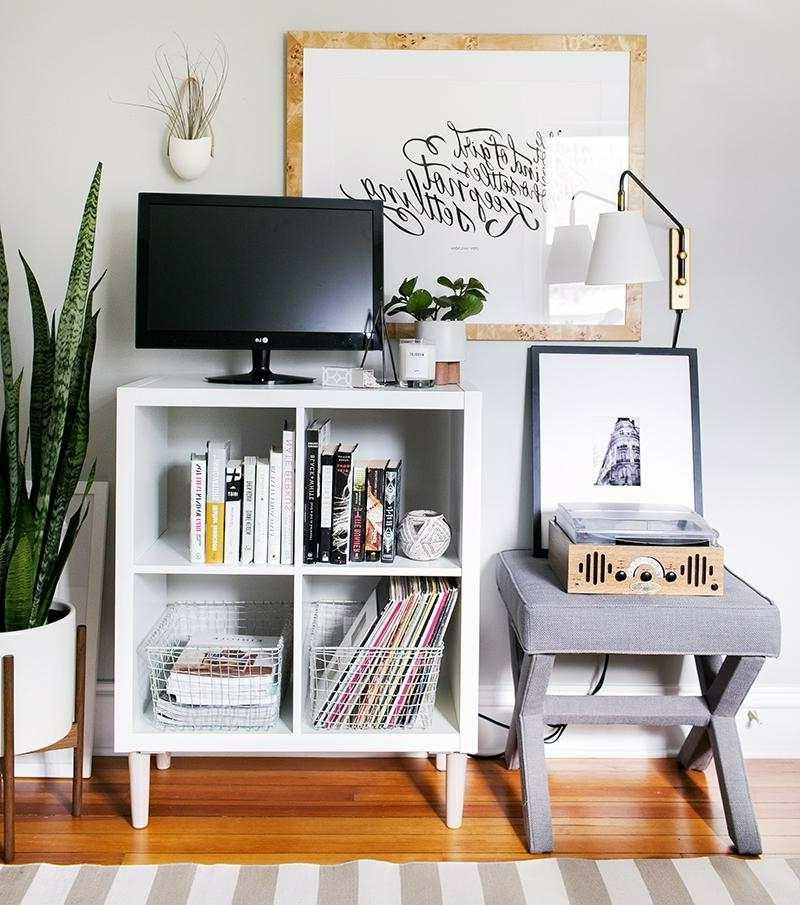 Kallax Ideen klein Fernseher