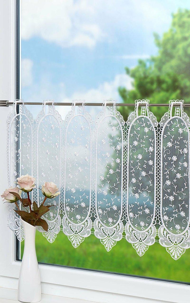 durchsichtige Gardine transparent dekorativ