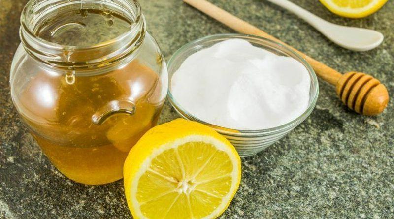 Maske Zitrone Joghurt Honig