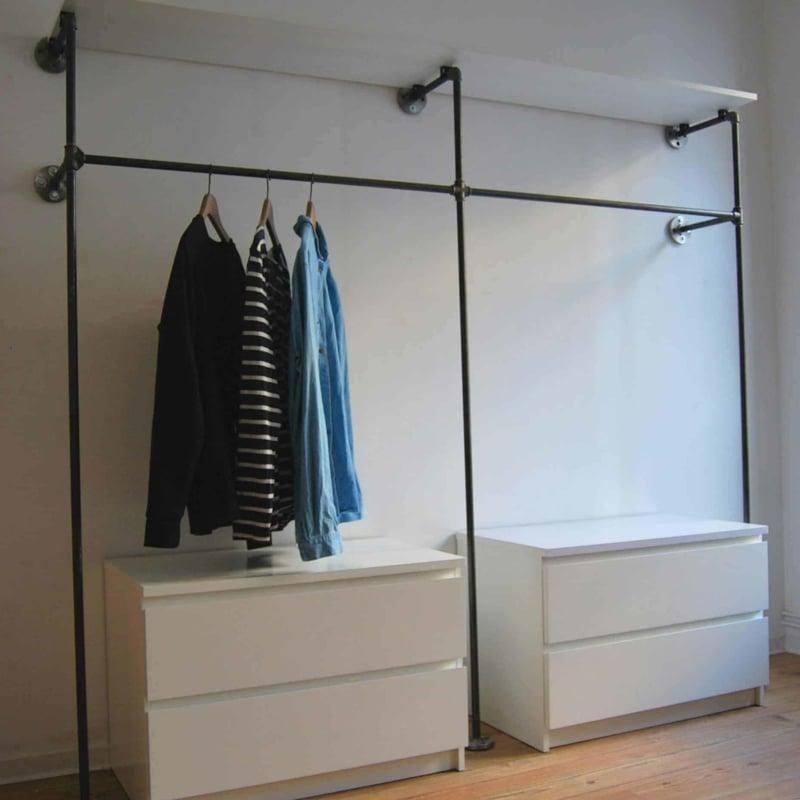 offener Kleiderschrank selber machen