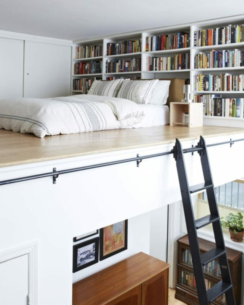 Etagenbett Einzimmerwohnung