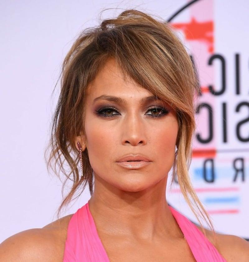 Jennifer Lopez schräger Pony