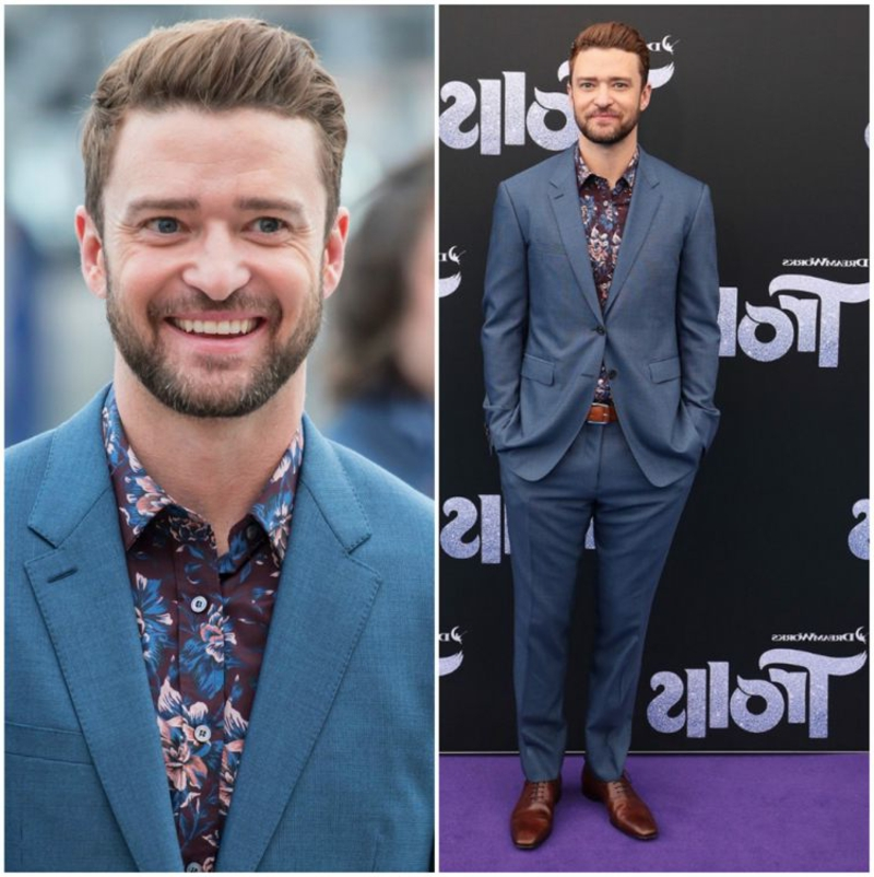 stilvoller Anzug Justine Timberlake