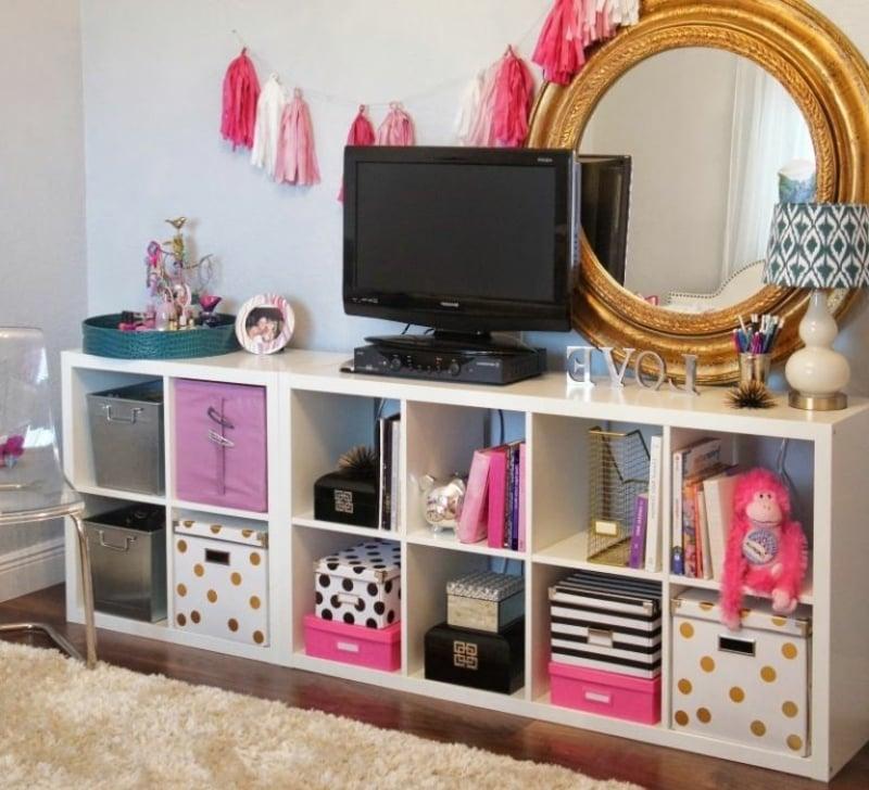 IKEA Regal Fernseher