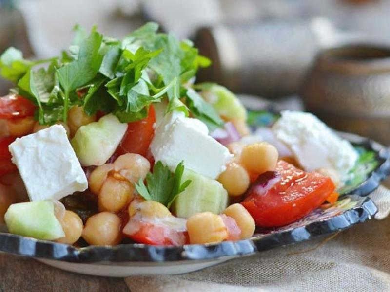 Salate schmackhaft arabische Küche