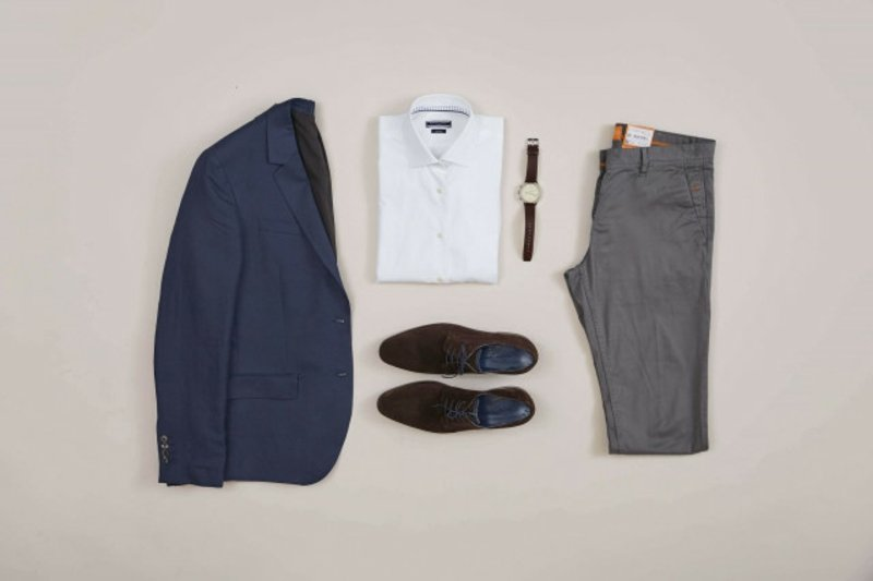 Business Casual Herren Kleidungsstücke gelungen kombinieren