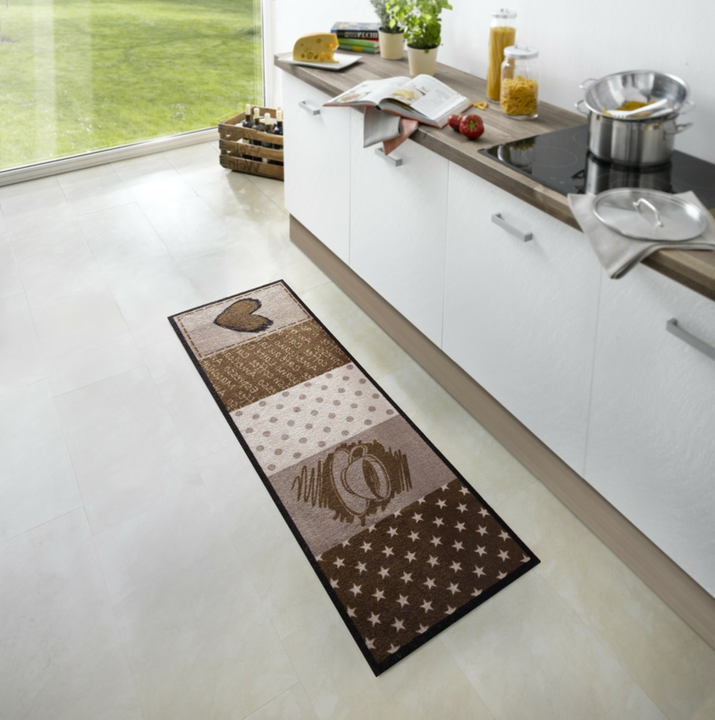 Küchenteppich klein Patchwork