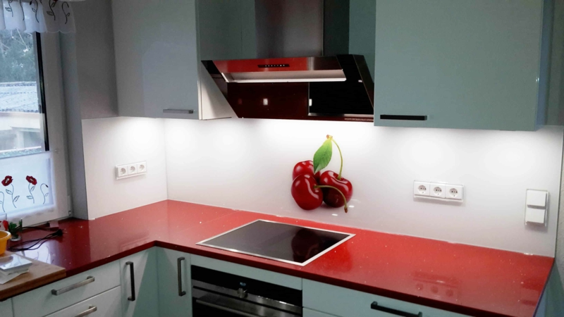 Küchenrückwand 3D Fototapete