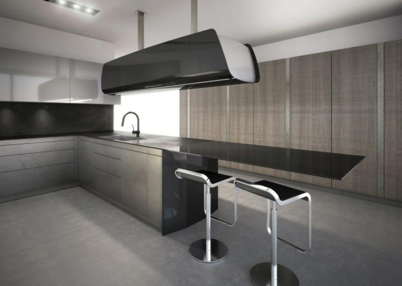 Gastronomie Möbel Küche minimalistisch