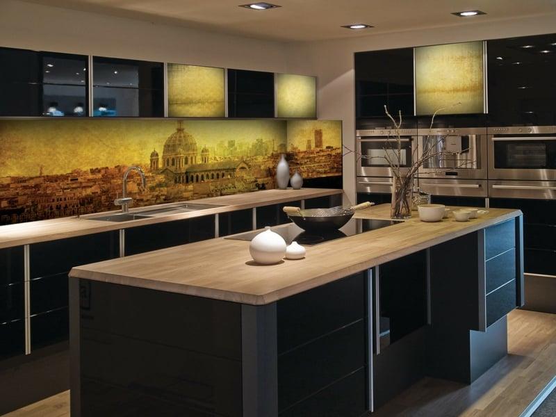 Küchenrückwand toll gestalten