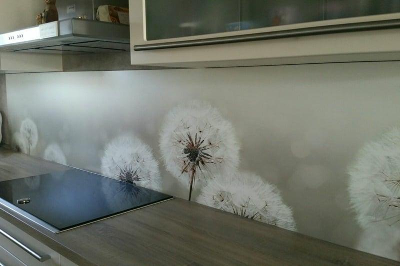 Küchenrückwand mit Pusteblumen herrlicher Look