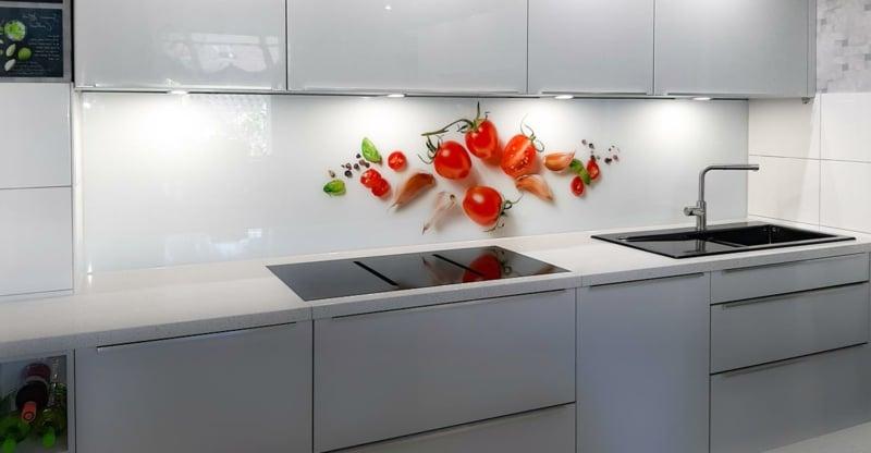 Wandpaneele Küche Fototapete Tomaten