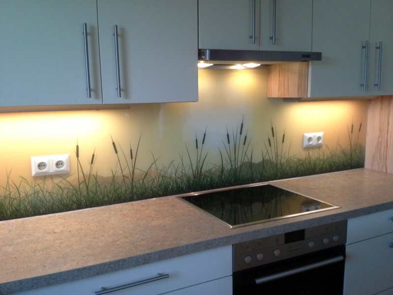 Wandpaneele Küche von IKEA