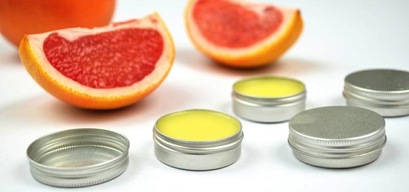 Lippencreme selber machen mit Grapefruit
