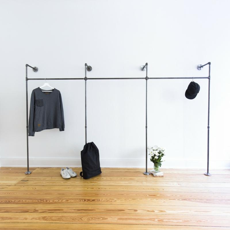 Mtallgestell Wand Kleidung aufhängen