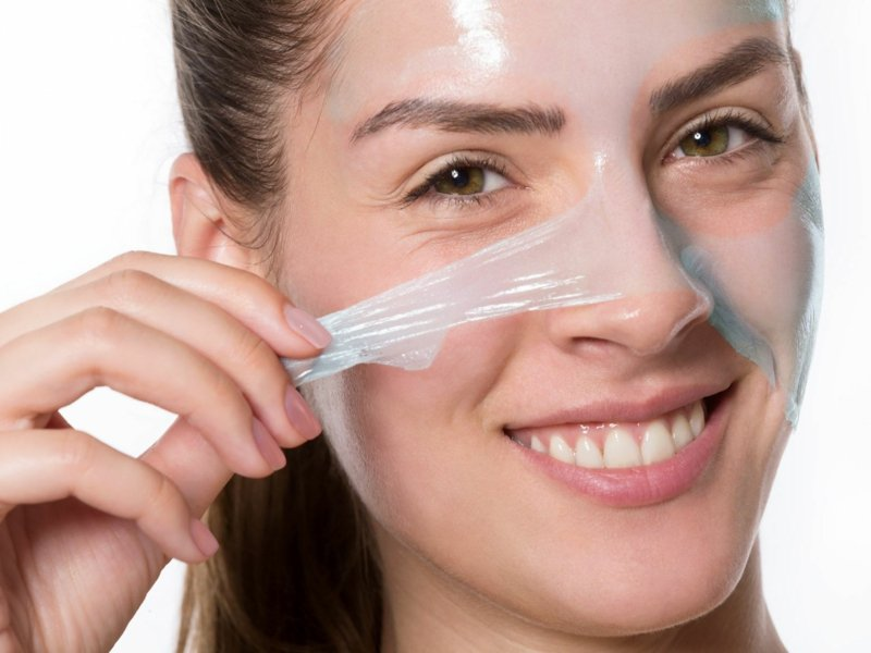 wirkungsvolle Peel off Maske