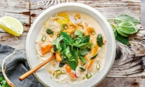 Thai Kokos Suppe Rezept