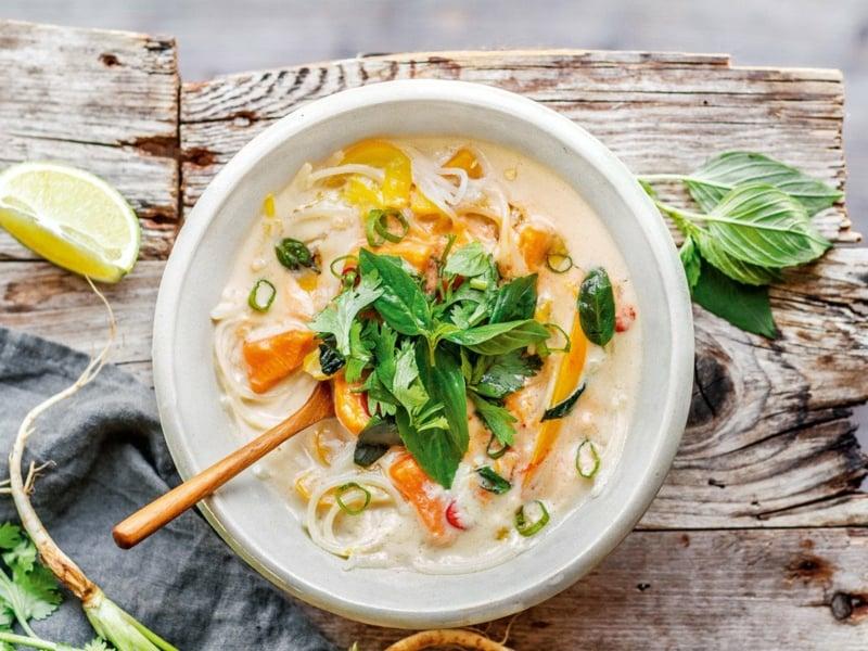 Thai Kokos Suppe Rezept