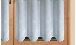 stolvolle Scheibengardine Küchenfenster
