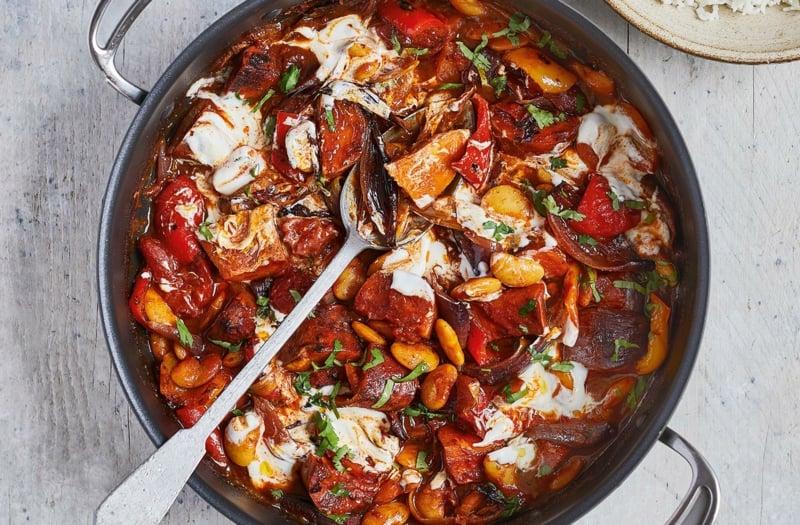 Süßkartoffel Rezepte Jamie Oliver vegetarisch vegan