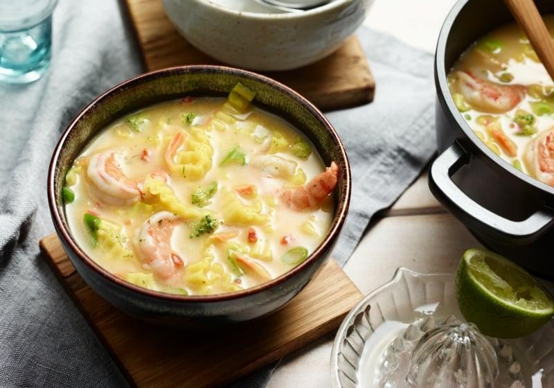 Mittagessen Ideen asiatische Suppe