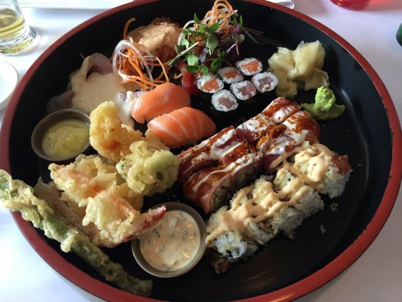 Serviervorschlag Henssler Sushi