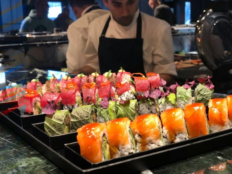 Henssler Sushi leckere Platte