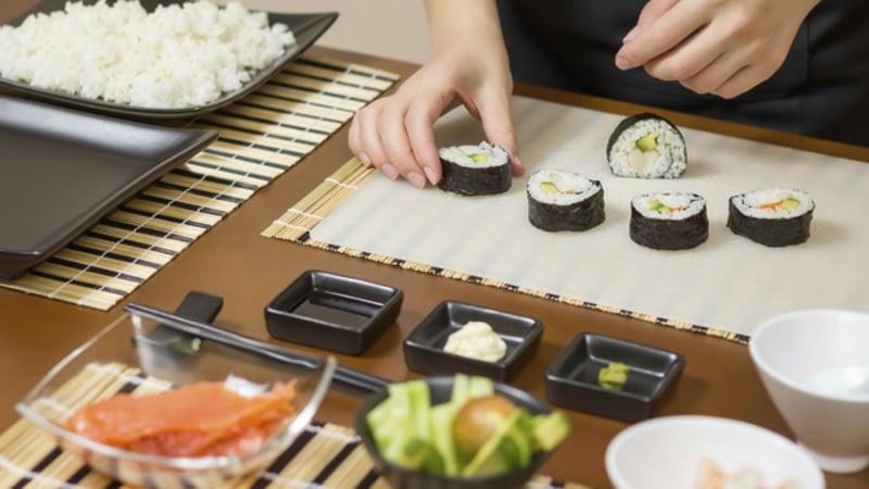 Originalrezept für Sushi