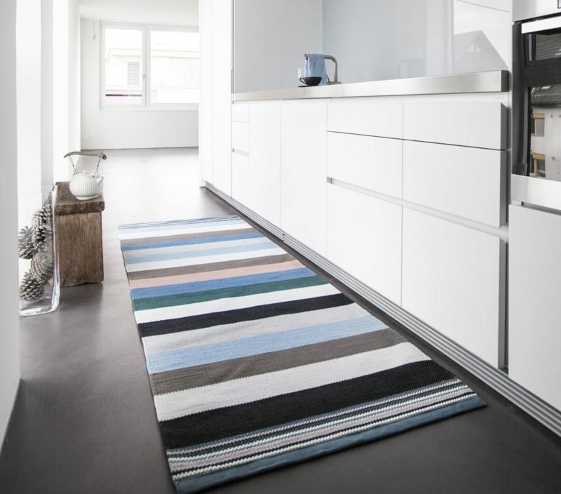 Küchenteppich Streifenmuster
