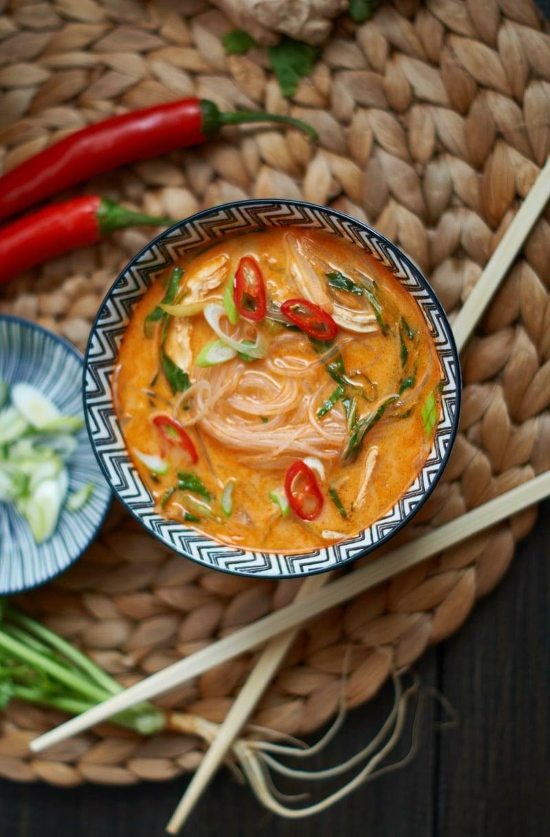 Thai Kokos Suppe selber machen