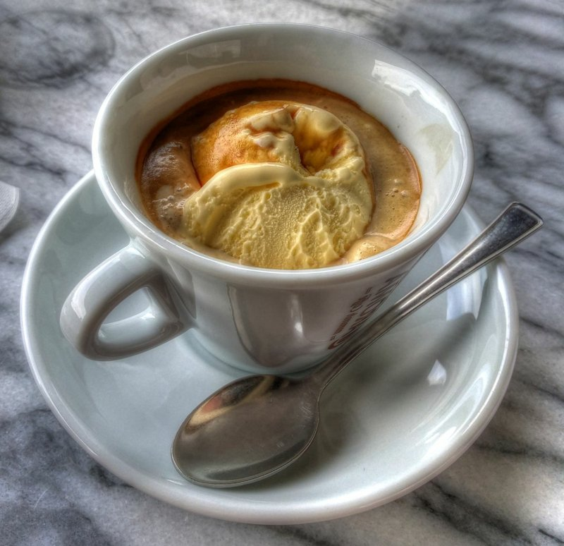 Kaffee Affogato selber machen