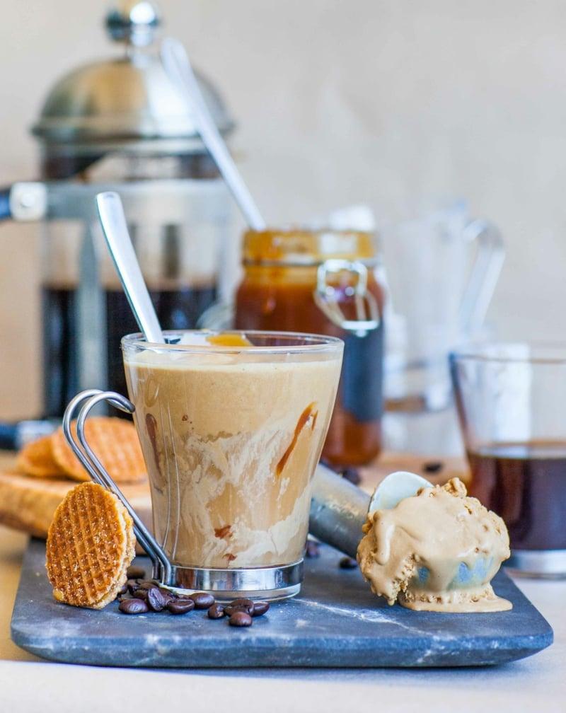 Sommergetränke Kaffee Affogato