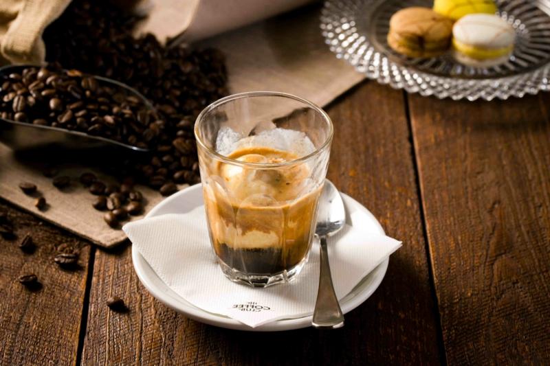 Vanilleeis mit Espresso Rezept leicht