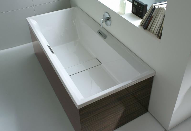 rechteckige Badewanne Porzellan