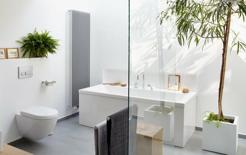 Bad renovieren rechteckige Badewanne