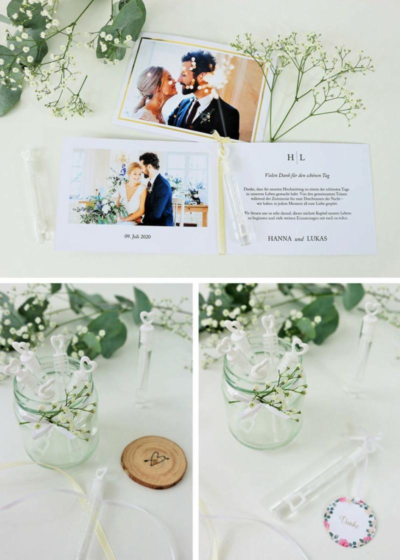 Danke sagen Gäste Hochzeit
