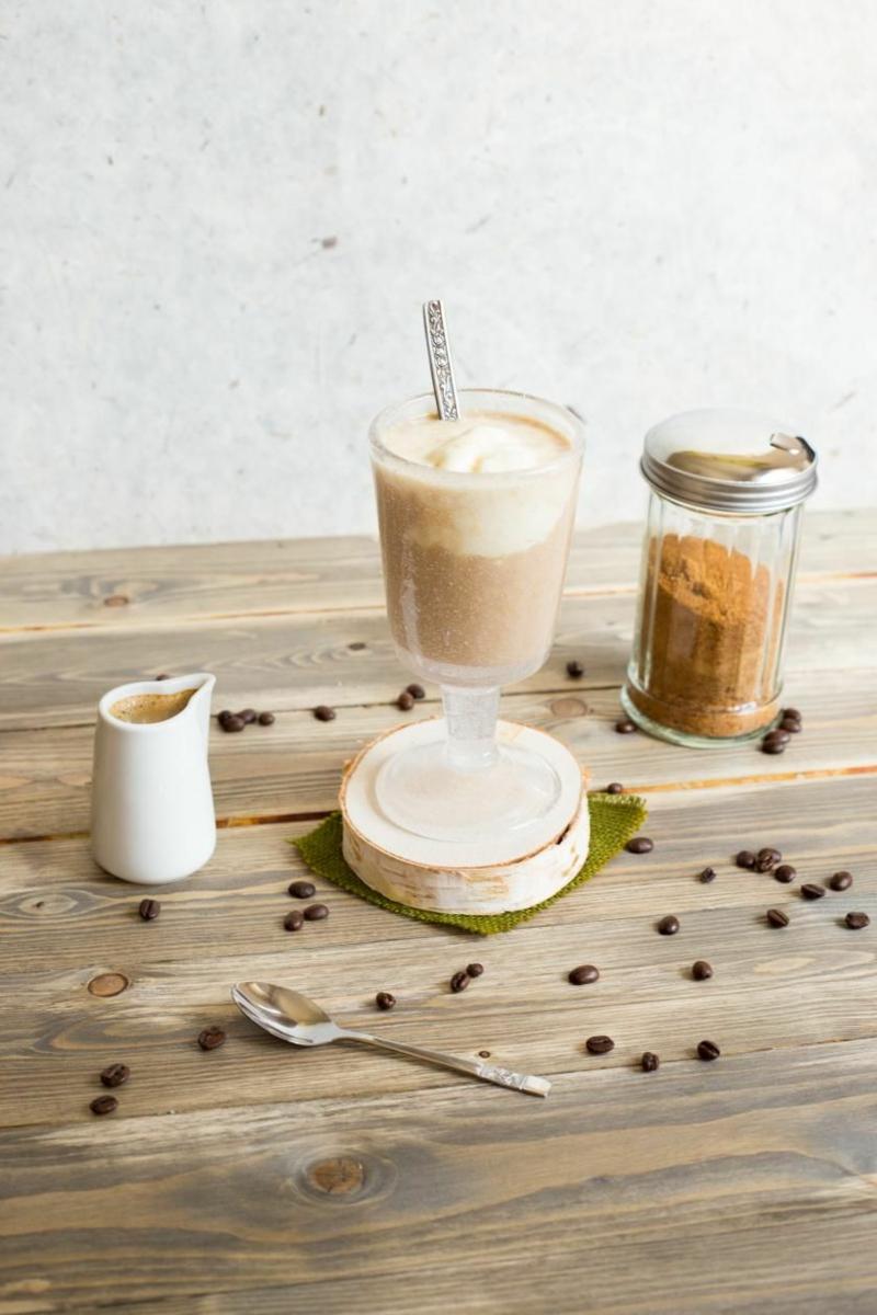 Kaffee mit Eis selber zubereiten