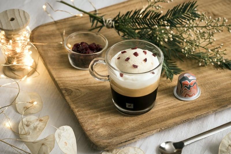 Vanilleeis mit Espresso tolle Idee Weihnachten