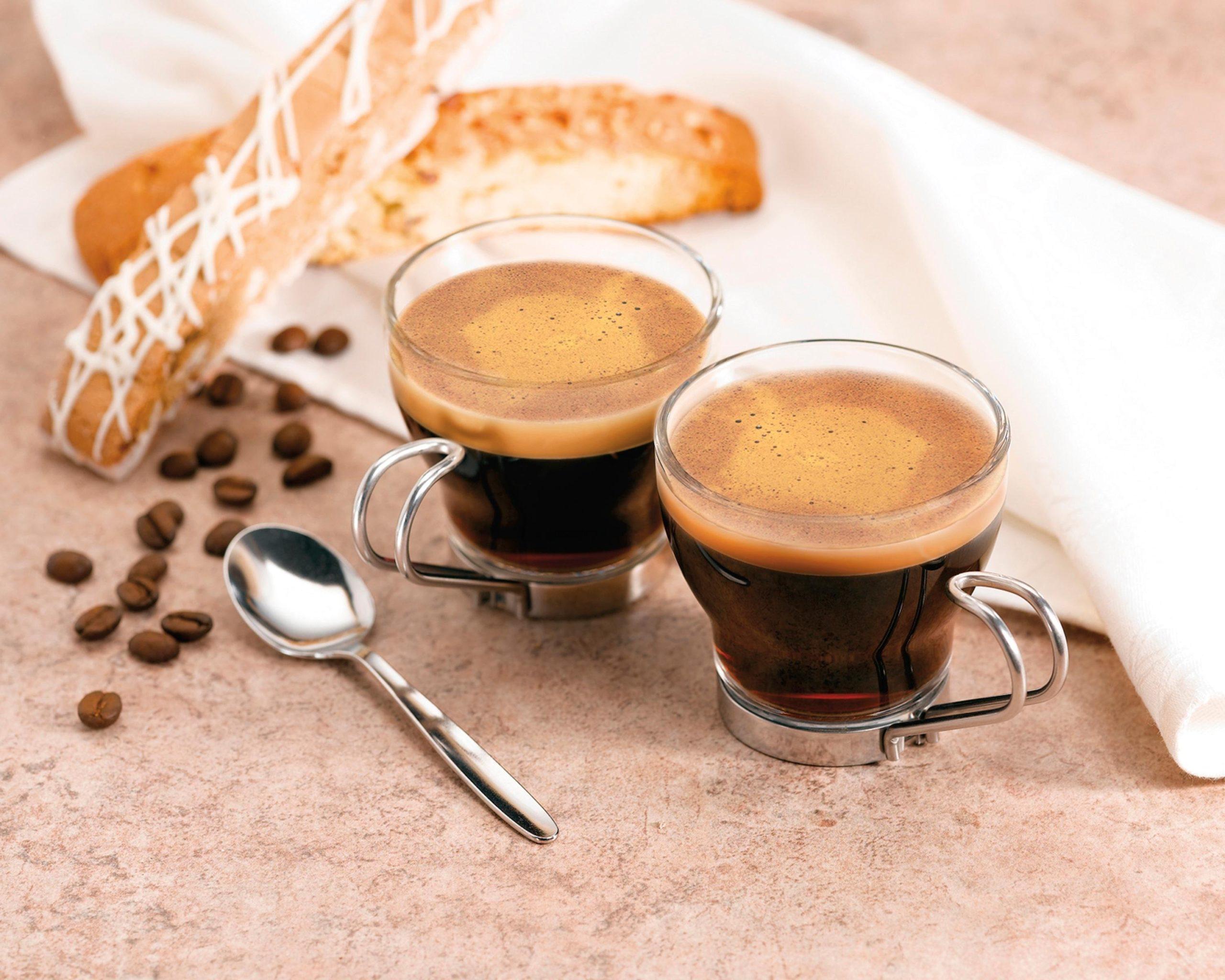 Espresso stark aromatisch