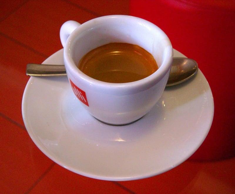 Espresso trinken