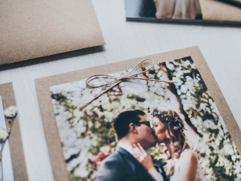 tolle Hochzeitskarten Brautpaar